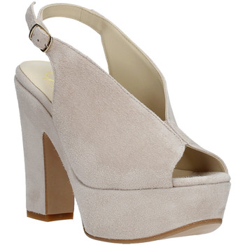 Scarpe Donna Sandali Grace Shoes TQ 107 Beige