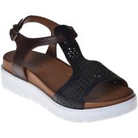 Scarpe Donna Sandali Bueno Shoes N3403 Nero