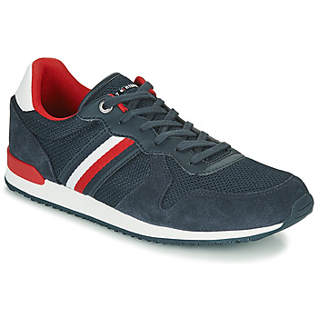 Scarpe Uomo Sneakers basse Tommy Hilfiger ICONIC MATERIAL MIX RUNNER Marine