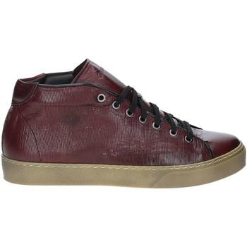 Scarpe Uomo Sneakers alte Exton 481 Rosso