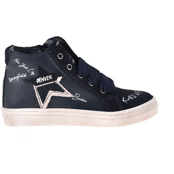 Scarpe Unisex bambino Sneakers alte Melania ME2041D8I.B Blu