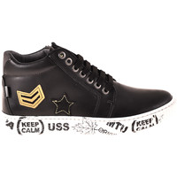 Scarpe Unisex bambino Sneakers alte Melania ME6033F8I.A Nero