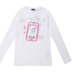 Abbigliamento Unisex bambino T-shirts a maniche lunghe Chicco 09006871000000 Bianco