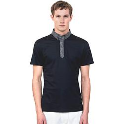 Abbigliamento Uomo Polo maniche corte Antony Morato MMKS01489 FA100084 Blu
