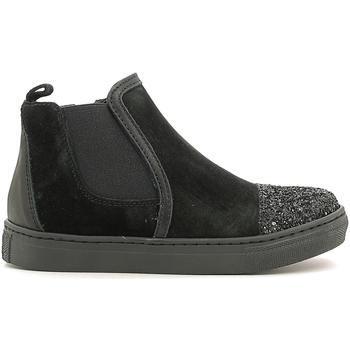 Scarpe Unisex bambino Sneakers alte Holalà HS050009L Nero