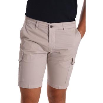 Abbigliamento Uomo Shorts / Bermuda Sei3sei PZV130 7148 Beige