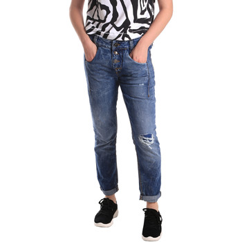 Abbigliamento Donna Jeans slim Fornarina BER1I27D785IM Blu
