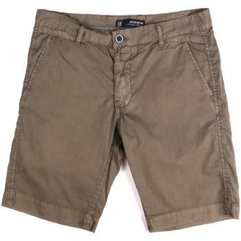 Abbigliamento Uomo Shorts / Bermuda Key Up 2P17A 0001 Marrone