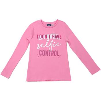 Abbigliamento Unisex bambino T-shirts a maniche lunghe Chicco 09006871000000 Rosa