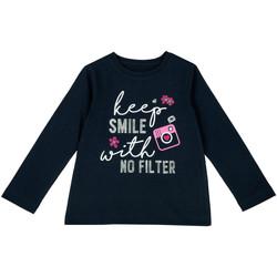 Abbigliamento Unisex bambino T-shirts a maniche lunghe Chicco 09006871000000 Blu