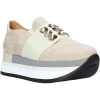 Scarpe Donna Slip on Grace Shoes 331004 Beige