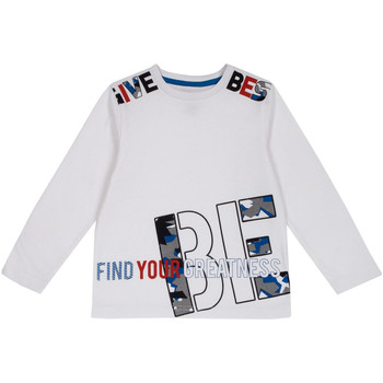 Abbigliamento Unisex bambino T-shirts a maniche lunghe Chicco 09006867000000 Bianco