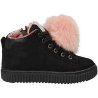 Scarpe Unisex bambino Sneakers alte Grunland PO1081 Nero