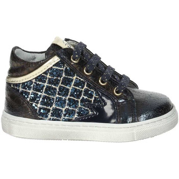 Scarpe Unisex bambino Sneakers alte Nero Giardini A820530F Blu