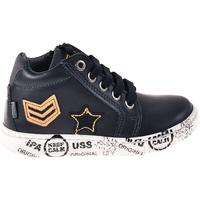 Scarpe Unisex bambino Sneakers alte Melania ME1033B8I.C Blu