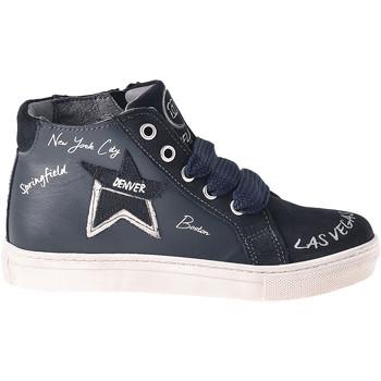Scarpe Unisex bambino Sneakers alte Melania ME6041F8I.B Blu