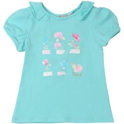 Abbigliamento Unisex bambino T-shirt maniche corte Chicco 09006969000000 Blu