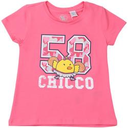 Abbigliamento Unisex bambino T-shirt maniche corte Chicco 09006955000000 Rosa