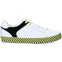 Scarpe Uomo Sneakers basse Byblos Blu 2MA0004 LE9999 Bianco