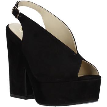 Scarpe Donna Sandali Grace Shoes ALBA 107 Nero