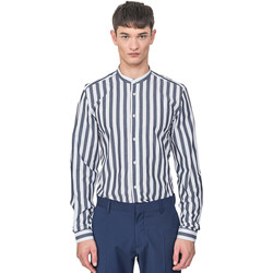 Abbigliamento Uomo Camicie maniche lunghe Antony Morato MMSL00604 FA420096 Blu