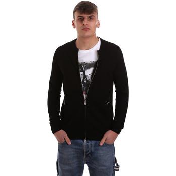 Abbigliamento Uomo Gilet / Cardigan Gaudi 921BU53015 Nero