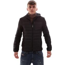 Abbigliamento Uomo Piumini Lumberjack CM69422 001 601 Nero