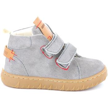 Scarpe Unisex bambino Sneakers alte Grunland PP0272 Grigio