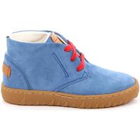 Scarpe Unisex bambino Sneakers alte Grunland PO1471 Blu