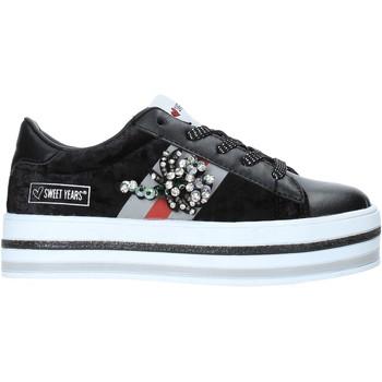 Scarpe Unisex bambino Sneakers basse Sweet Years W19-SSK313 Nero