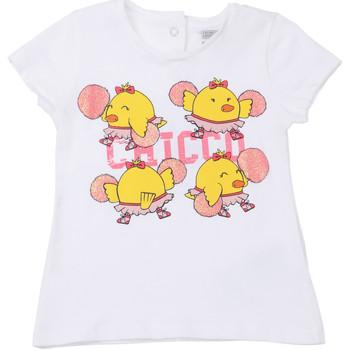 Abbigliamento Unisex bambino T-shirt maniche corte Chicco 09006955000000 Bianco