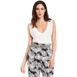 Abbigliamento Donna Top / Blusa Gaudi 011FD64008 Bianco