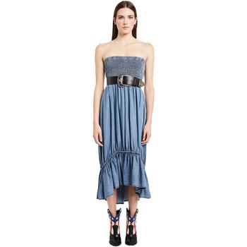 Abbigliamento Donna Abiti lunghi Denny Rose 011ND16002 Blu