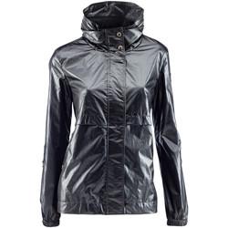 Abbigliamento Donna giacca a vento Lumberjack CW79823 001 412 Nero