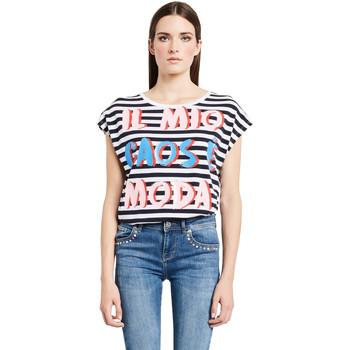 Abbigliamento Donna T-shirt maniche corte Denny Rose 011ND64017 Bianco