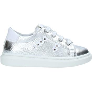 Scarpe Unisex bambino Sneakers basse Nero Giardini E021335F Argento