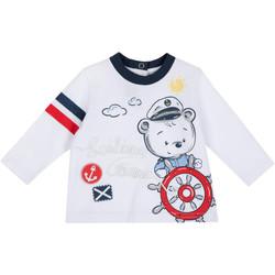 Abbigliamento Unisex bambino T-shirts a maniche lunghe Chicco 09006877000000 Bianco