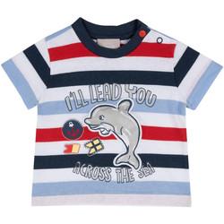 Abbigliamento Unisex bambino T-shirt maniche corte Chicco 09006876000000 Blu