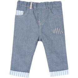 Abbigliamento Unisex bambino Pantaloni 5 tasche Chicco 09008117000000 Blu