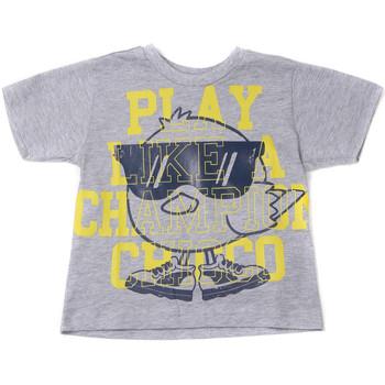Abbigliamento Unisex bambino T-shirt maniche corte Chicco 09006918000000 Grigio