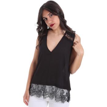 Abbigliamento Donna Top / Blusa Gaudi 011FD45055 Nero