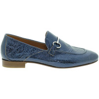 Scarpe Donna Mocassini Mally 6105 Blu