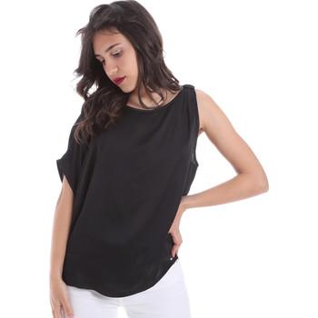 Abbigliamento Donna Top / Blusa Gaudi 011FD45057 Nero