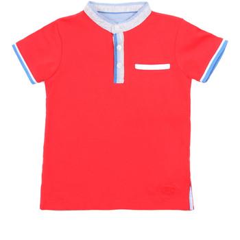 Abbigliamento Unisex bambino Polo maniche corte Losan 015-1791AL Rosso