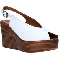 Scarpe Donna Sandali Bueno Shoes Q6100 Bianco