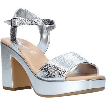 Scarpe Donna Sandali Grace Shoes L220 Argento