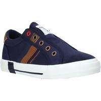 Scarpe Unisex bambino Sneakers basse Fred Mello S20-SFK305 Blu