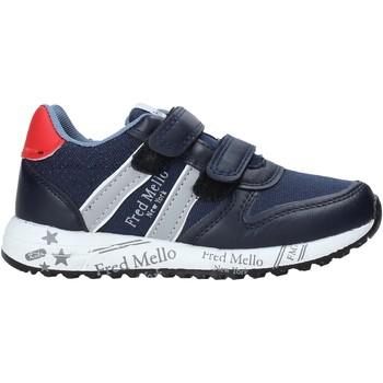 Scarpe Bambino Sneakers basse Fred Mello S20-SFK318 Blu