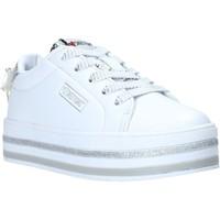 Scarpe Unisex bambino Sneakers basse Sweet Years S20-SSK415 Bianco