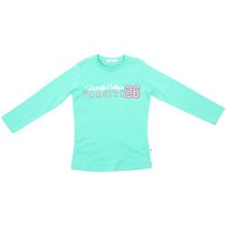 Abbigliamento Unisex bambino T-shirts a maniche lunghe Melby 70C5615 Verde